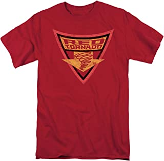 Batman: The Brave and The Bold Red Tornado Shield T Shirt & Stickers