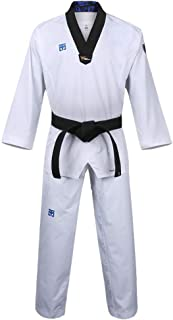 Mooto Taekwondo Extera S6 Uniform with BK V-Neck for Competition Dobok TKD Martial Arts MMA Judo Karate