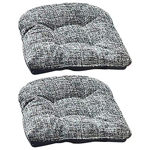 Eternitry 2 cojines antideslizantes para asiento de sofá, cojín de jardín, cojín de tatami para cocina, comedor, sala de estar, dormitorio, silla de oficina