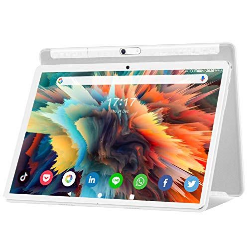 of samsung galaxy phones dec 2021 theres one clear winner Android 10.0 Tablet 10 Inch, Octa-Core Processor, 1920x1200 HD Touchscreen Large Tablets with 13MP Rear Camera, 6000mAh Battery, 32GB ROM 128GB Expand Storage, WiFi, Bluetooth/GPS/FM/OTG