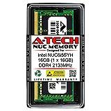 A-Tech 16GB RAM for Intel NUC6i5SYH NUC Kit | DDR4 2133MHz PC4-17000 1.2V SODIMM Memory Upgrade Module