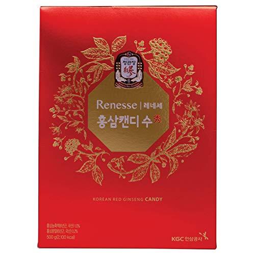 KGC Cheong Kwan Jang [Renesse Korean Red Ginseng Extract] Mint Hard Candy (83 Count - 500gram)