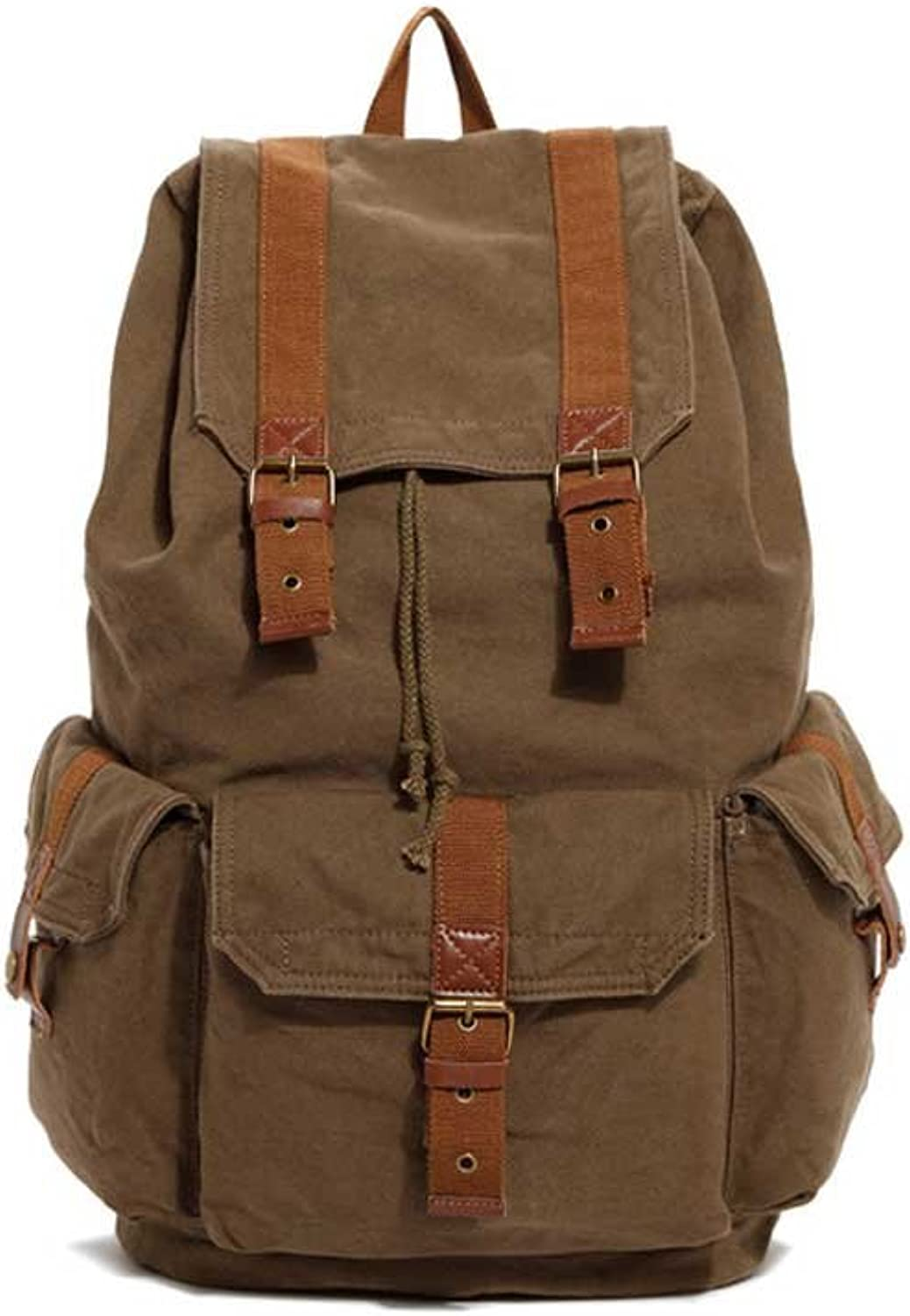 Men and Women Can Use Backpack Backpack Retro Canvas Backpack Leisure Bag