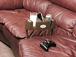 Cupsy Sofa and Couch Beverage Organizer and Furniture Drink Holder with Removable Legs - Multiple Colors by Cupsy