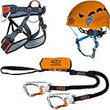 Climbing Technology Plus Kit Vía Férrea Multicolor Multicolor Talla:S-M