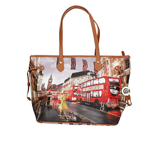 YNOT Shopping Bag Medium YES-319F0 TAN-LONDON 44,5 x 16,8 x 28,6 cm