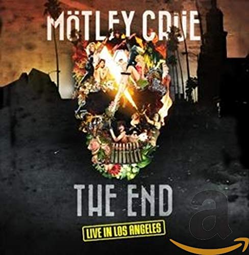 Motley Crue - The End - Live in Los Angeles - Deluxe (DVD+BLU-RAY+CD)