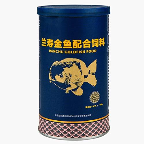 ATATMOUNT Gesundes Aquarium Tropisches Fischfutter Ranchu Goldfischfutter Farbe zur Verbesserung der nahrhaften Spirulina Astaxanthin-Versorgung