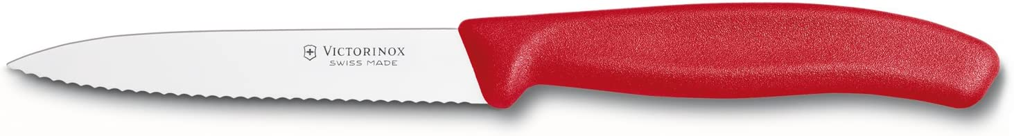 Sacramento Mall Victorinox Swiss Classic 4 Spear Tip Our shop most popular Serrated Inch