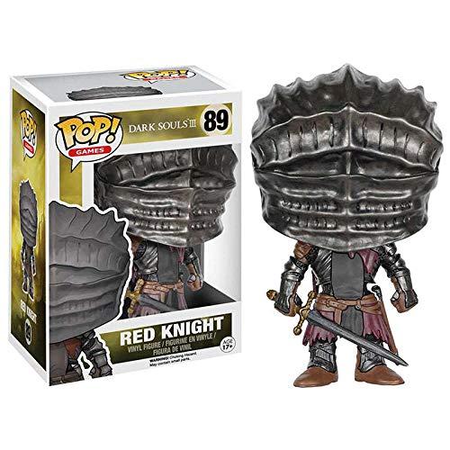 cheaaff Funko Pop Game Series Dark Souls Red Knight # 89 Figura de accion de Vinilo Munecas Juguetes