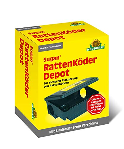 "Rattenköder Depot ""Sugan®"" NEUDORFF RATTEN- KöDER DEPOT 617 - HAN: 617"