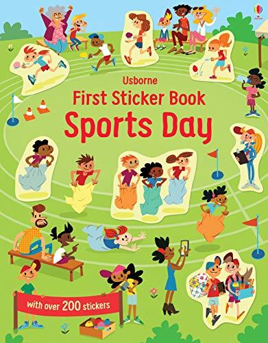 First Sticker Book Sports Day (First Sticker Books series)
