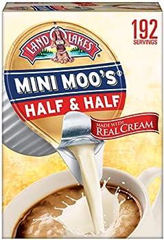 192-Count Land O'Lakes Mini-Moo's Half & Half Liquid Creamer 0.28 Fl. Oz
