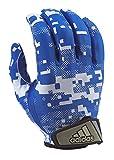 adidas FilthyQuick Digital Receiver American Football Handschuh, royal-blau, Gr. 2XL