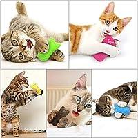 Sefod 猫用ぬいぐるみ おもちゃ 噛むおもちゃ キャットニップのおもちゃ 肥満解消 ストレス解消 猫遊び ネコ キャット用品 10PCS