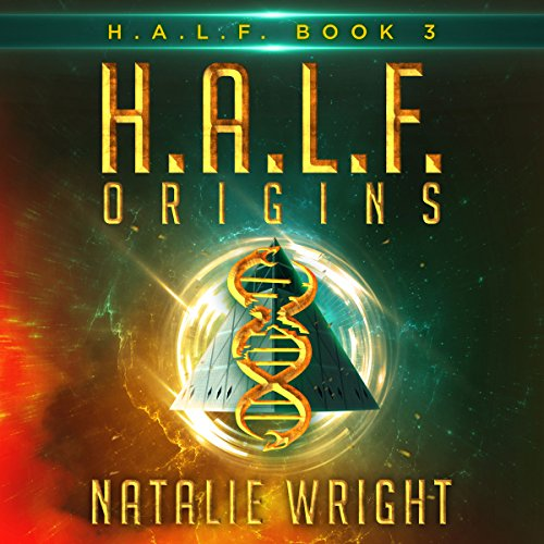 H.A.L.F. Origins audiobook cover art