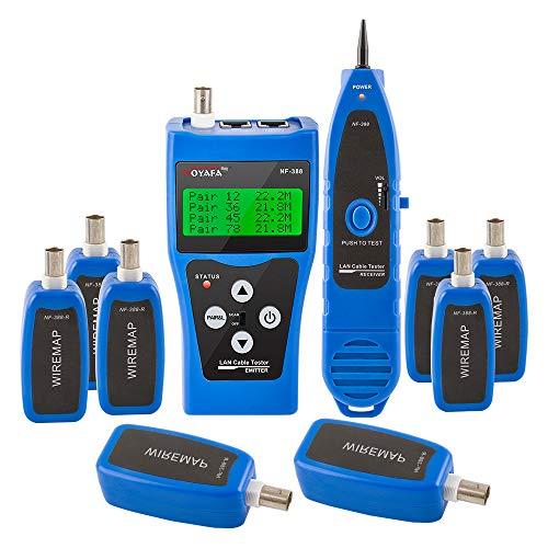 Noyafa NF-388-B Multipurpose Network Cable Tester Tracker Tracer Test Ethernet