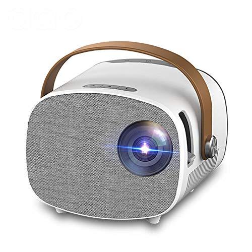 Proyector Portátil Mini Proyector para 1080P Video Beamer Home Theater WiFi Multipantalla Reproductor Multimedia Regalo para Niños