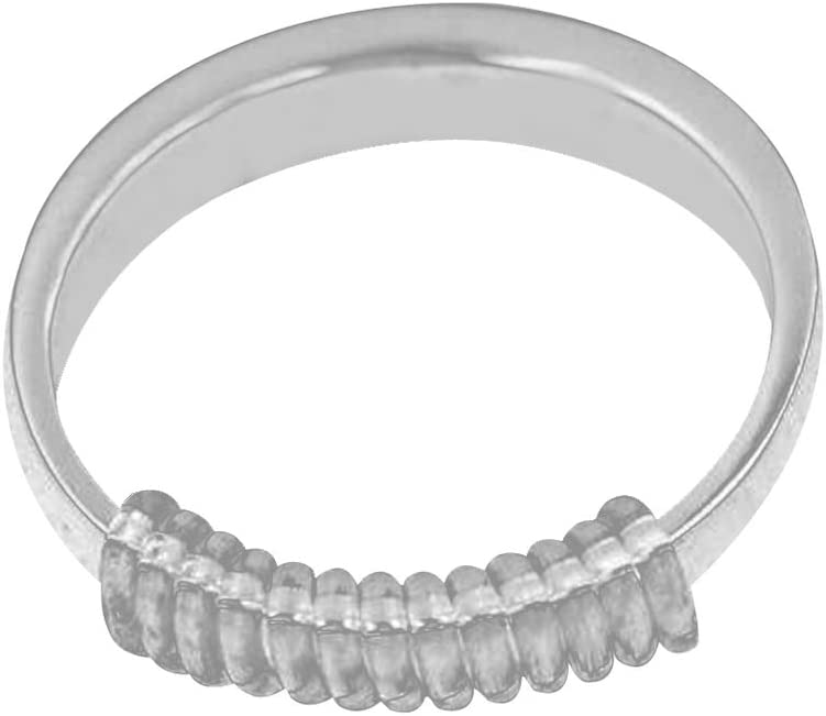 Healifty 8pcs Ring Size Adjuster Guard Invisible Silicone R Reservation Max 62% OFF