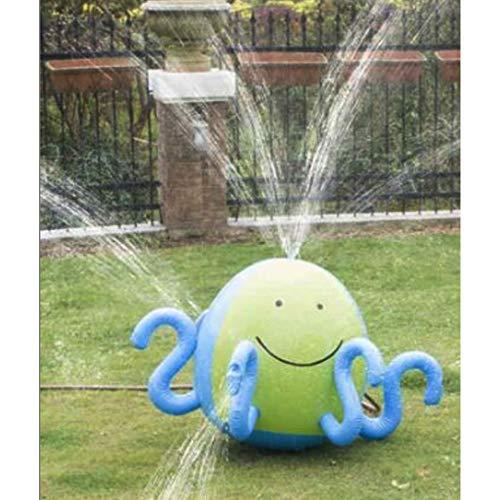 CPSTM Aufblasbare Splash Sprinkler Beach Ball Octopus Wasser Spray Mit 4 Wasser Ausspuckt Sommer Wasser Jet Ball Wasser Höhe Strand Pool Rasen Pools Wasser Spaß Spielzeug