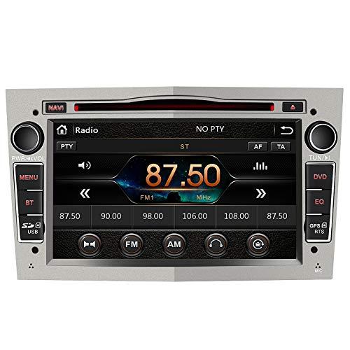 AWESAFE 7 Pollici Autoradio 2 Din Windows Bluetooth Vivavoce, Car Radio con Navigatore per Opel Meriva Corsa Zafira Vivaro Antara, Supporta il funzionamento del volante USB SD RDS DAB+