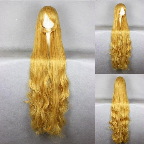 Ladieshair Cosplay Perücke blond 150cm wellig GOSICK Victorique De Blois
