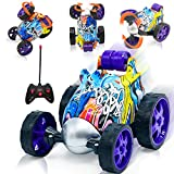 Remote Control Car for Boys Girls - Rc Stunt Car Toy with Spins and Flips & 360...