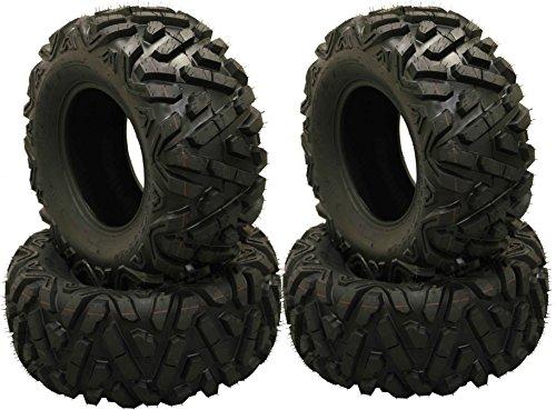 Set of 4 WANDA ATV Tires AT 27x10-12 /6PR P350-10170