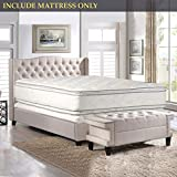 Nutan 12-Inch Medium Plush Double sided Pillowtop Innerspring Fully Assembled Mattress Good For The Back, King
