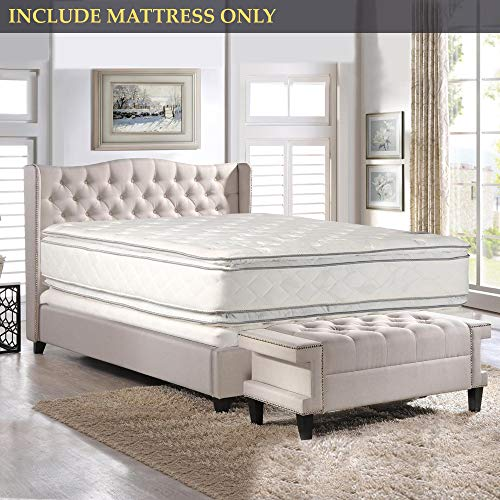 Double sided Pillowtop Innerspring Fully Assembled Mattress, Good For The Back, XXL - 84'' x 60''