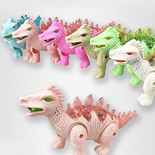 FairOnly Elektrischer Dinosaurier mit Leine und Musik, Spielzeug, zufällige Farbe