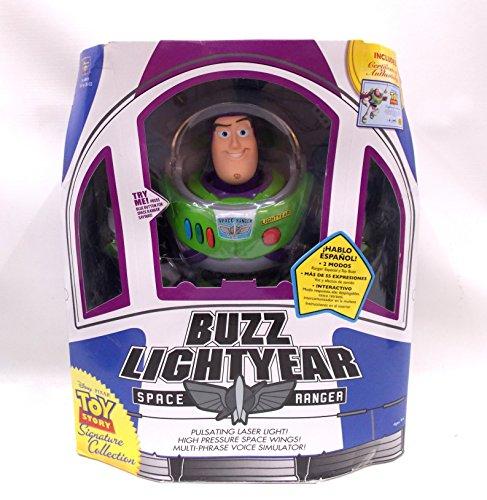 Disney Toy Story 25132 - Buzz Light Year Personaggio Interattivo, Plastica