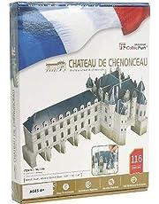 """CubicFun 3D-puzzel """"Chateau de Chenonceau - Val de Loira"""""""