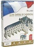 Rompecabezas 3D de la CubicFun 'Chateau De Chenonceau - Valle del Loira'