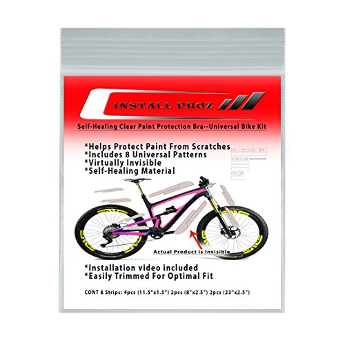 Install Proz Self-Healing Clear Paint Protection Bra-Universal Bicycle Kit