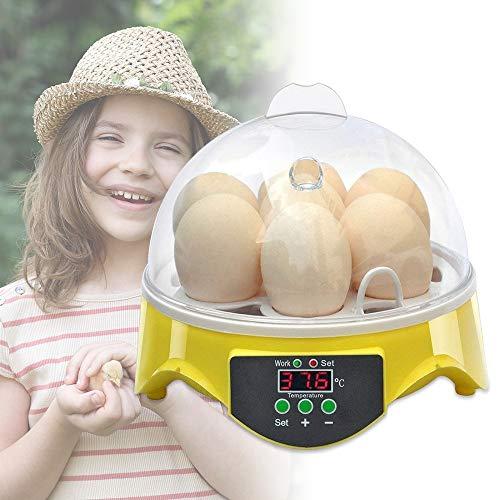 S SMAUTOP Batidora de Mano eléctrica Batidor de Mano Ligero de 7 velocidades, para batidora de Cocina Mini Pastel de Huevo Crema batidora