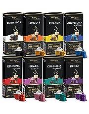 Nespresso Uyumlu Kapsül Kahve 8 li 80 Kapsül