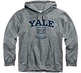 Ivysport Yale University Bulldogs Hooded Sweatshirt, Heritage, Charcoal Grey, Small