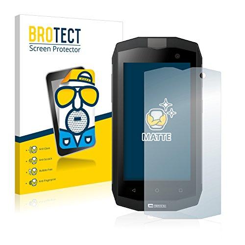 BROTECT 2X Entspiegelungs-Schutzfolie kompatibel mit Crosscall Trekker M1 Core / M1 Bildschirmschutz-Folie Matt, Anti-Reflex, Anti-Fingerprint