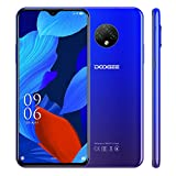 Smartphone, DOOGEE X95 telefono movil, pantalla de 6,52 pulgadas, 16GB + 2GB Quad Core 4G Móvil 13 MP cámaras, 4350mAh batería, Android 10, Telefonía doble SIM, Azul