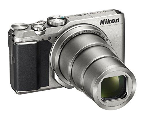 Nikon Coolpix A900- Cámara Digital compacta, 20,3Mpx, Zoom 35x, función VR, grabación de vídeo 4K UHD, Bluetooth, WiFi, Color Plateado