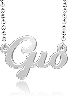 Custom Made Necklace with Name Nameplate Personalized Jewelry Gift for Women