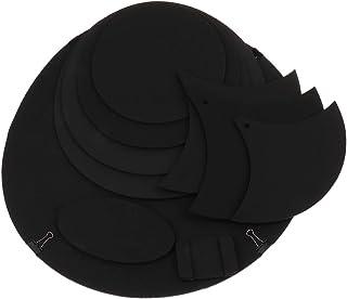 P Prettyia ドラムミュート ハイハット シンバルミュート 練習パッド