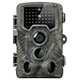 Newin Star Cámara 20MP Rastro de la Caza con visión Nocturna activados por Movimiento Impermeable, cámara de HD 1080P 36LED de la Fauna cámara de exploración de Caza