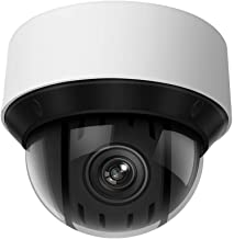 4MP UltraHD 25x Network PTZ outdoor dome Camera, DT4B425IW-DE(OEM DS-2DE2A404IW-DE3),2560X1440,165ft IR Night Vision,Auto tracking,4.8mm~120mm 25X Optical Zoom H.265+, IP67,IK10 SD Card Slot