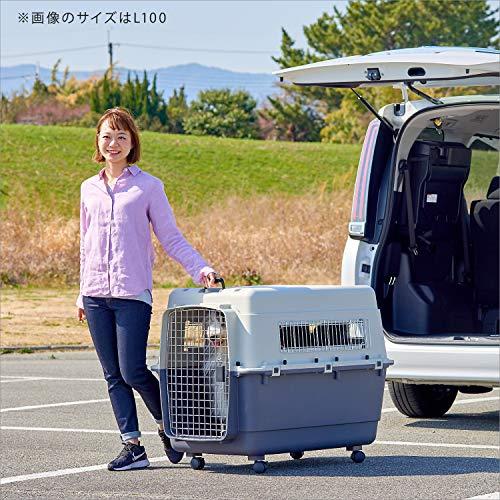 【SpaceOFT】ペットケンネル・ファーストクラスL120専用キャスター付き【外寸】幅82×奥121×高91cm本体重量(約):18.4kgペットキャリーハードキャリー取っ手付き室内用ハウスIATA安全基準クリア多頭飼い大型犬旅行ケンネルハード※キャスターは仕様変更があり、メイン画像とは異なりますので予めご了承の程よろしくお願い申し上げます。