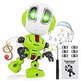 Herefun Roboter KinderSpielzeug, Intelligenter Roboter, Elektronische Roboter, Interaktives Roboter Lernspielzeug, Kinder Geburtstagsgeschenke und Weihnachts Geschenke (Grün)