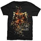 Photo de Rock Off Him H.I.M. Ville Valo Love Metal Dark Light Officiel T-Shirt Hommes Unisexe (Small) par