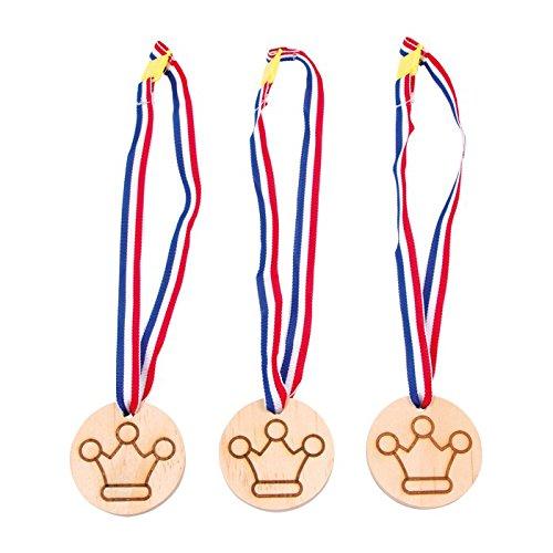 Legler - 2020938 - Accessoire pour Déguisement - Set D'accessoires - Médaille - Couronne - Lot De 3