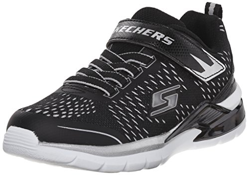 Skechers Skechers Kids Erupters II Lava Arc Light Up Sneaker (Toddler), Black/Silver, 5 M US Toddler